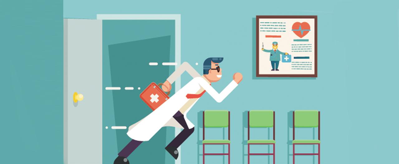 Не пациент придет к врачу, а врач к пациенту