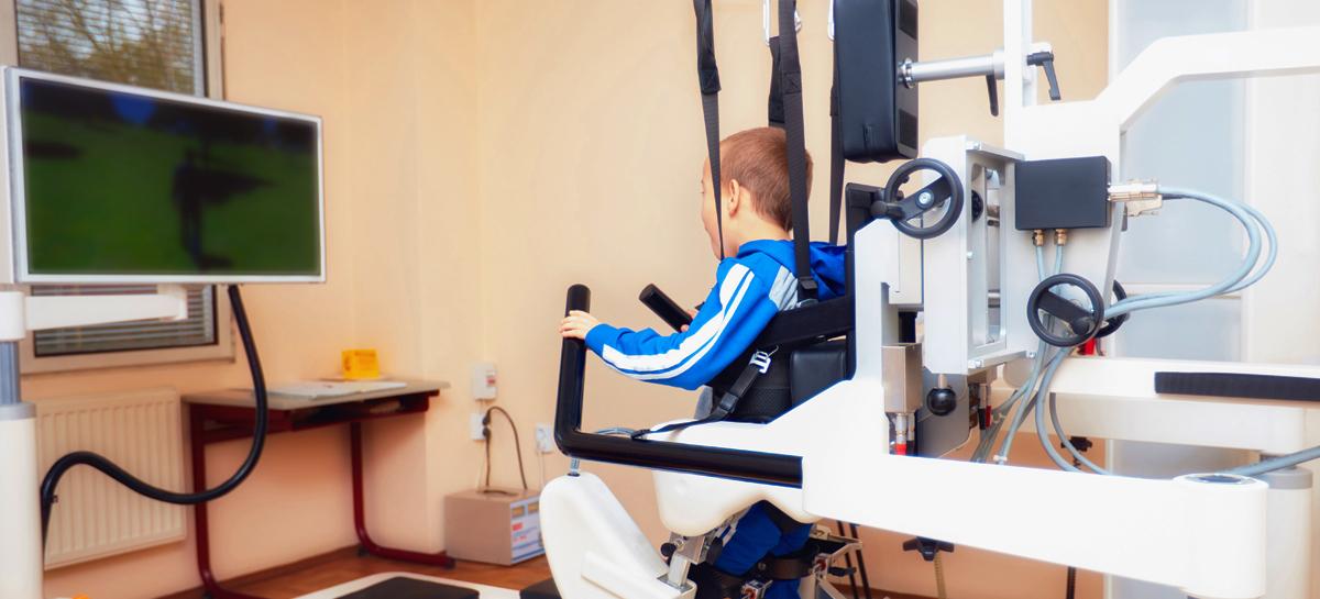 Роботы лечат детей с ДЦП и аутизмом