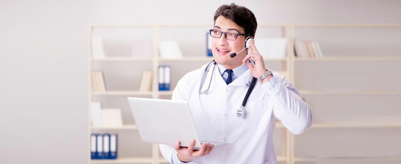 Больницы переключаются на телемедицину