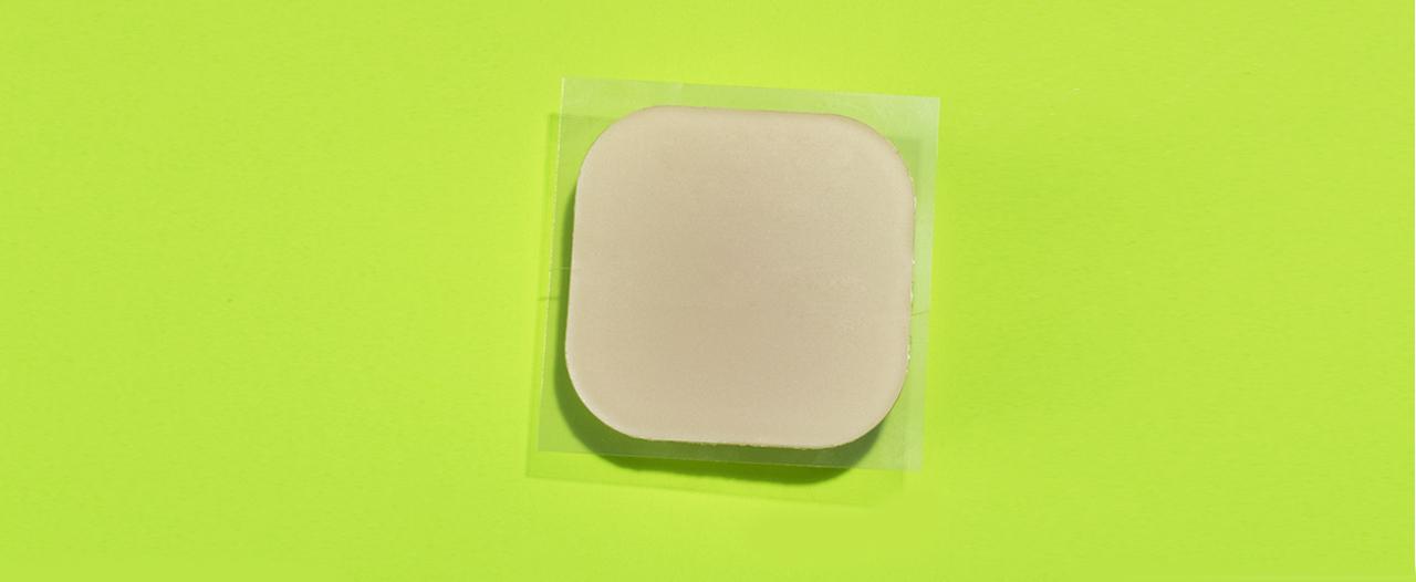 Заплатки для костей из полимера
