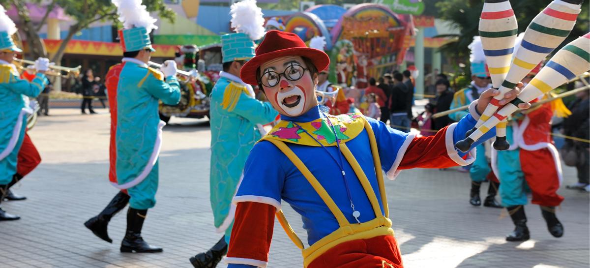 «Доктор Клоун» заставляет ребенка поверить