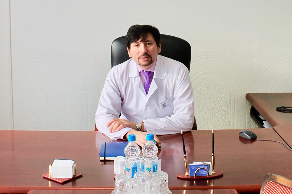 Руководитель лечебно-реабилитационного научного центра «Русское поле» Александр Карелин
