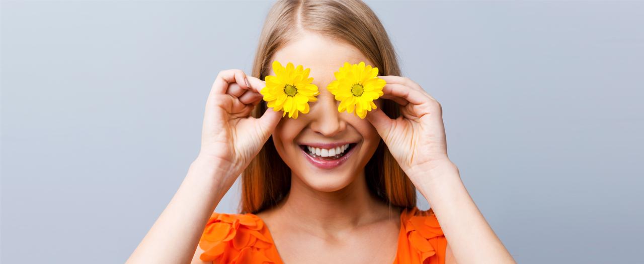 Весна пускает пыльцу в глаза