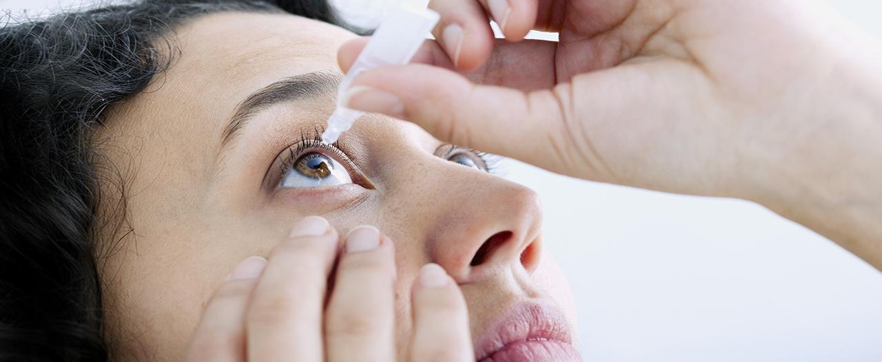 Дно глазной гигиены