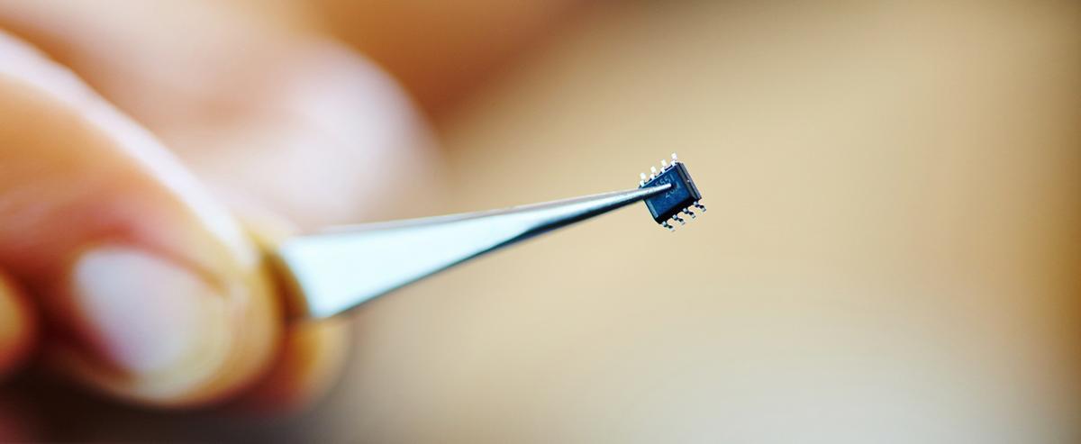 Микрочип с квантовыми точками