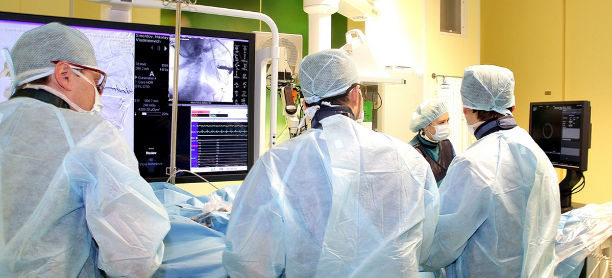 В Центре Алмазова внедряют внутрисосудистую визуализацию при операциях на артериях