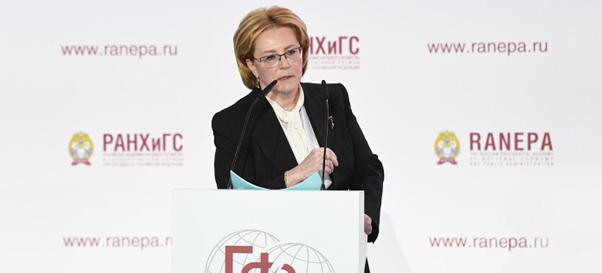 Глава Минздрава РФ  – о влиянии образа жизни человека на его здоровье