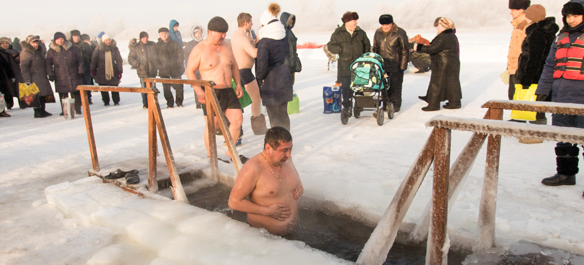 Число крещенских купальщиков в 2019 году выросло в России на 60% – до 2,4 миллиона человек