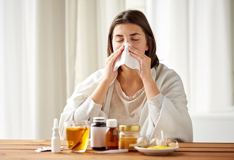 Эпидемия гриппа и ОРВИ зафиксирована в пяти федеральных округах