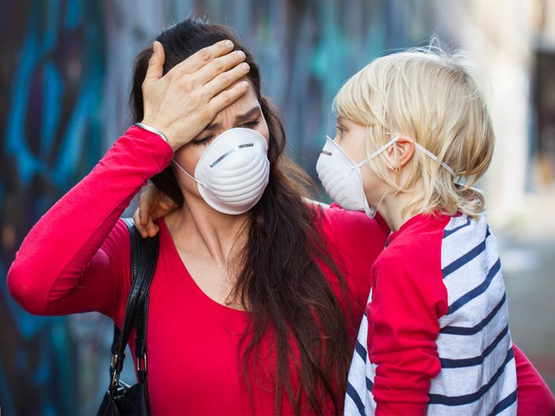 Россияне больше всего обеспокоены эпидемиологической обстановкой в стране и мире