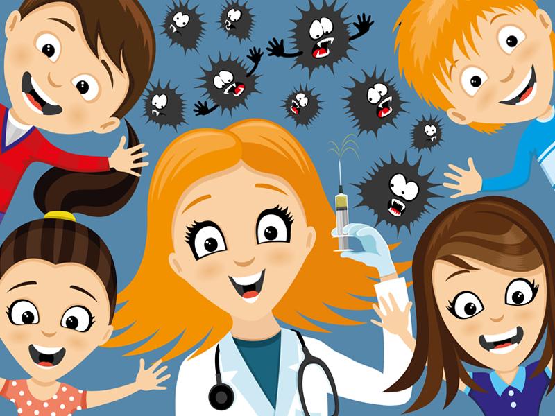 Жителям Москвы расскажут об опасности отказа от вакцинации детей