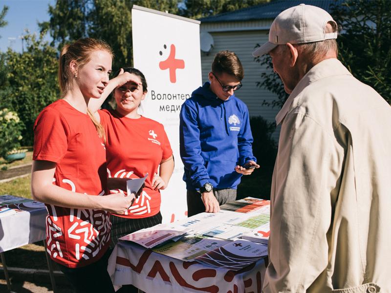 Село Останино первым приняло добровольцев от здравоохранения