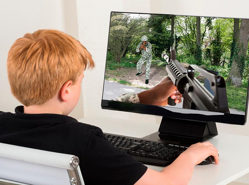 В Совфеде намерены защитить детей от компьютерных игр с актами насилия