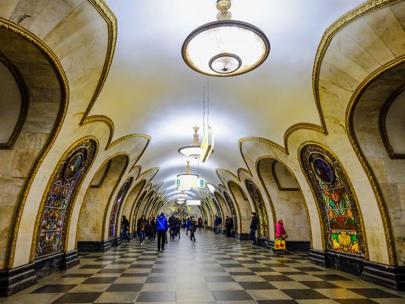 Научиться заботиться о здоровье можно и в метро