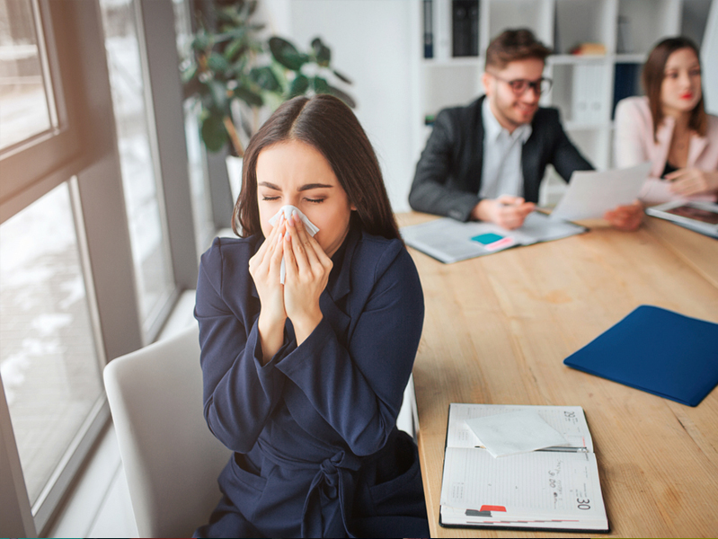 В Департаменте здравоохранения назвали способы защиты от вирусной инфекции в офисе