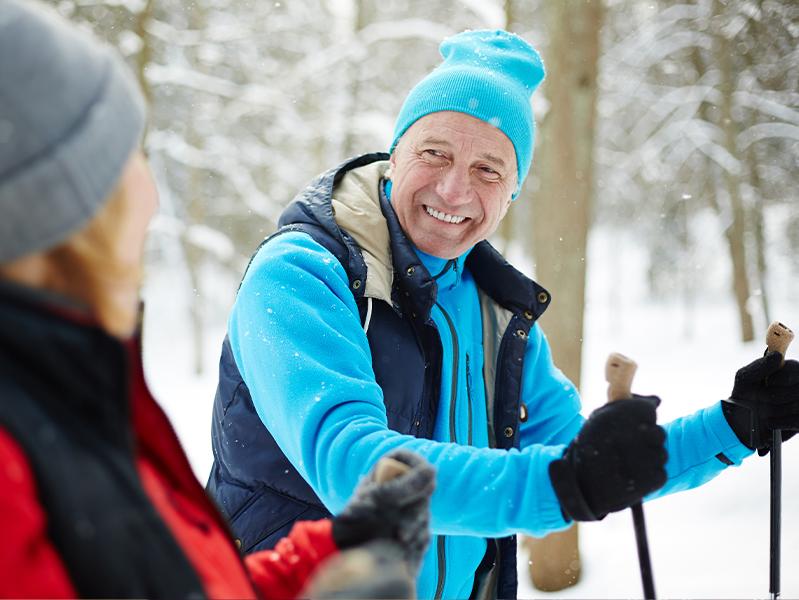 Пожилых горожан приобщат к зимним видам спорта