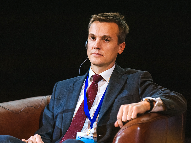 Выступление генерального менеджера Sanofi Pasteur по региону Россия и Беларусь Гийома Ошальтера