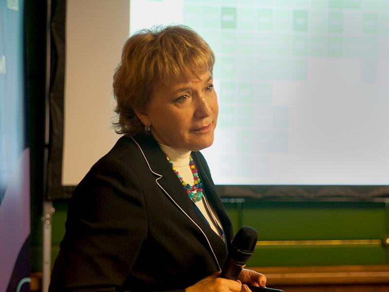 Выступление директора Института экономики здравоохранения НИУ ВШЭ Ларисы Попович