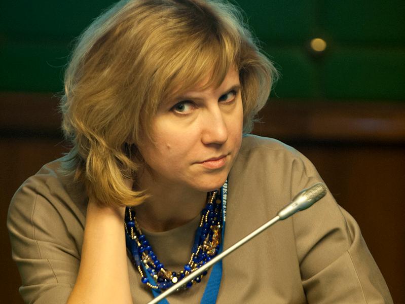 Выступление заместителя директора по научной и аналитической работе НМИЦ профилактической медицины Анны Концевой