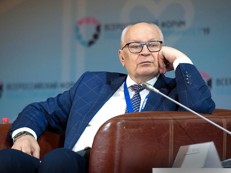 Выступление исполнительного вице-президента РСПП, управляющего директора управления по взаимодействию с региональными и отраслевыми объединениями Виктора Черепова