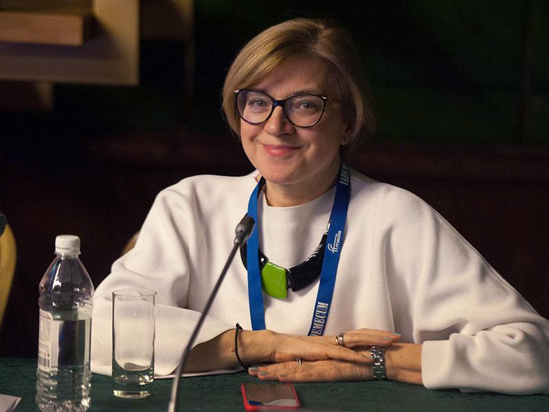 Выступление исполнительного директора Ipsos Russia Марины Безугловой