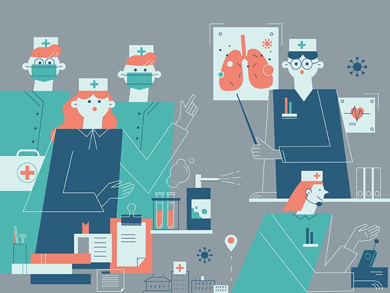 Медики против пандемии: ключевые вопросы исследования