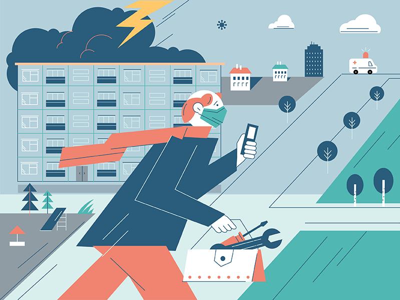 «Первое, что я делаю, – измеряю температуру себе перед работой»: пандемия без изоляции