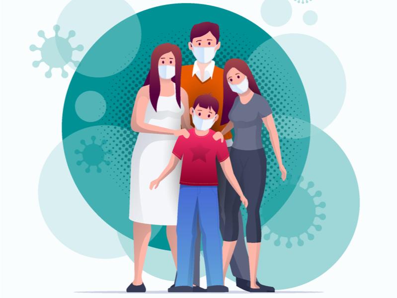 Семья и пандемия: обсуждение в соцсетях