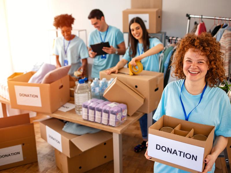 Благотворительность во время пандемии