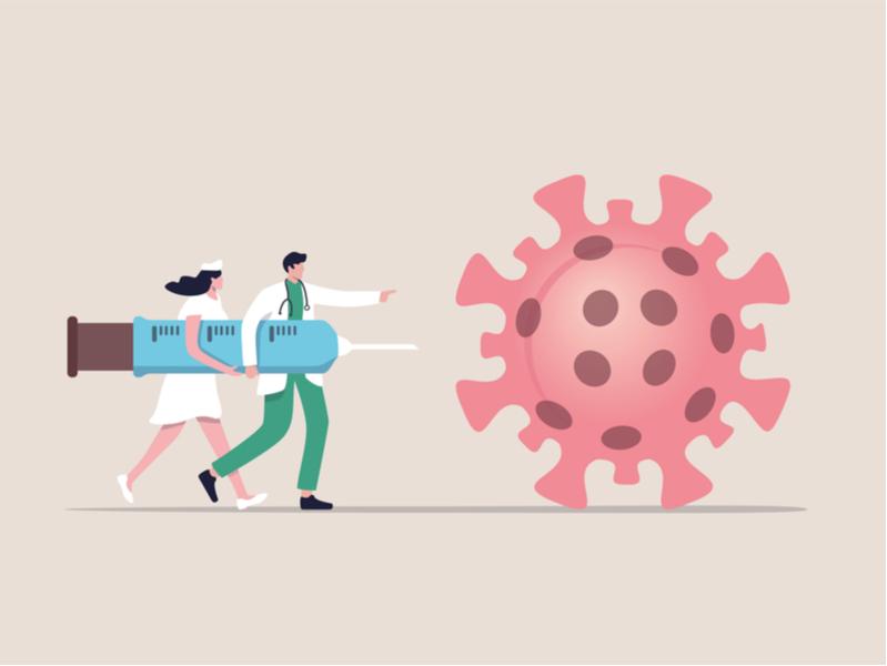Обсуждение вакцины от коронавируса в социальных медиа