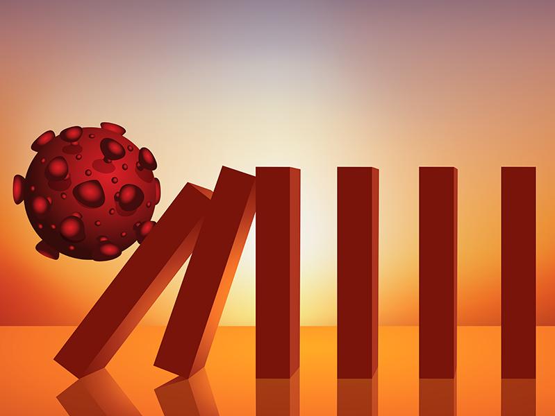 Принцип домино: почему сложно назвать наиболее пострадавшие отрасли