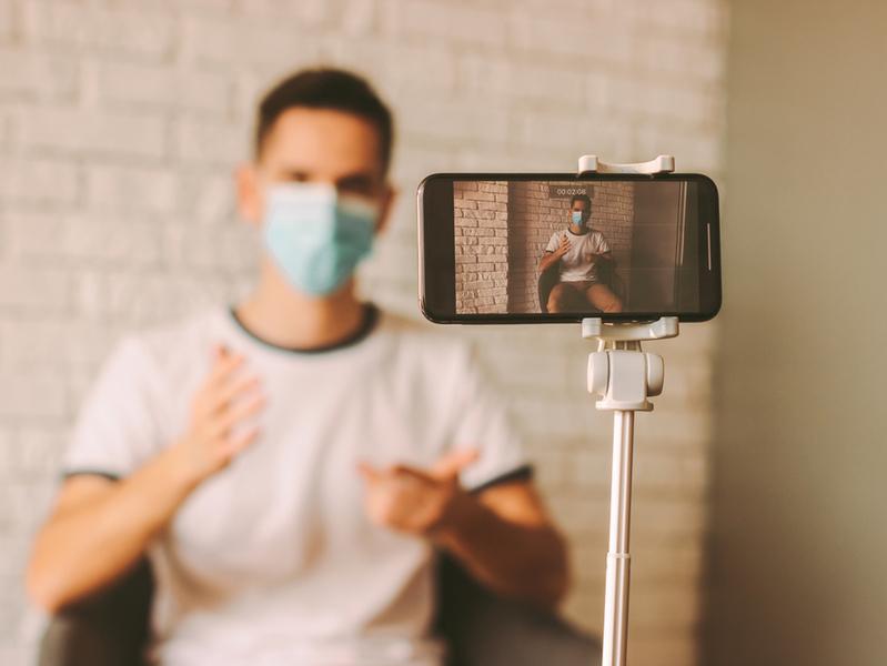 Видеоблоги времен пандемии