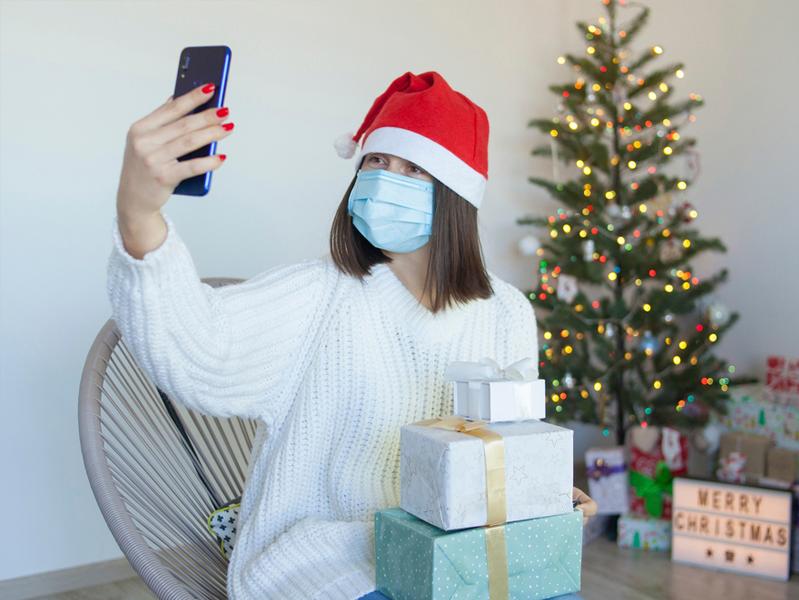 Новогодние праздники россиян во время пандемии
