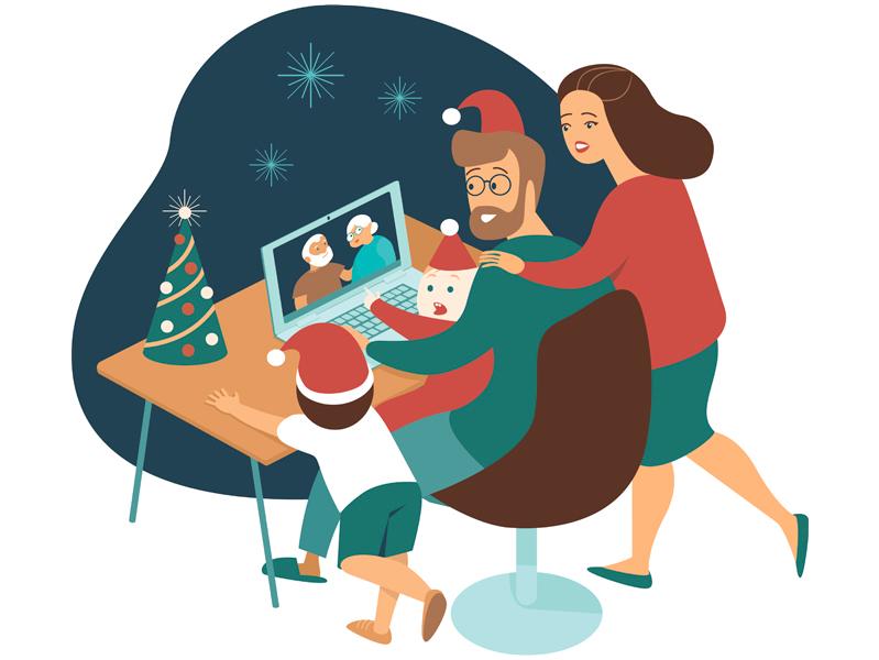 Ковид и новогодние праздники: мониторинг соцсетей