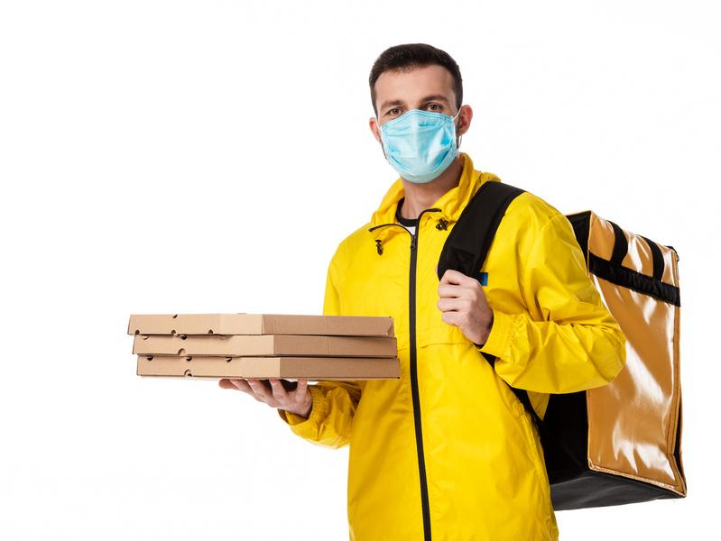 Курьеры и пандемия