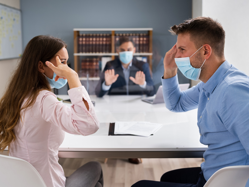 Как пандемия повлияла на разводы