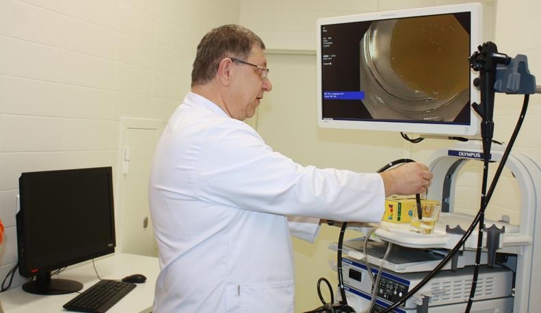 Гастроэнтеролог-гепатолог Андрей Фарбер: эндомикроскоп дает 150-кратное увеличение