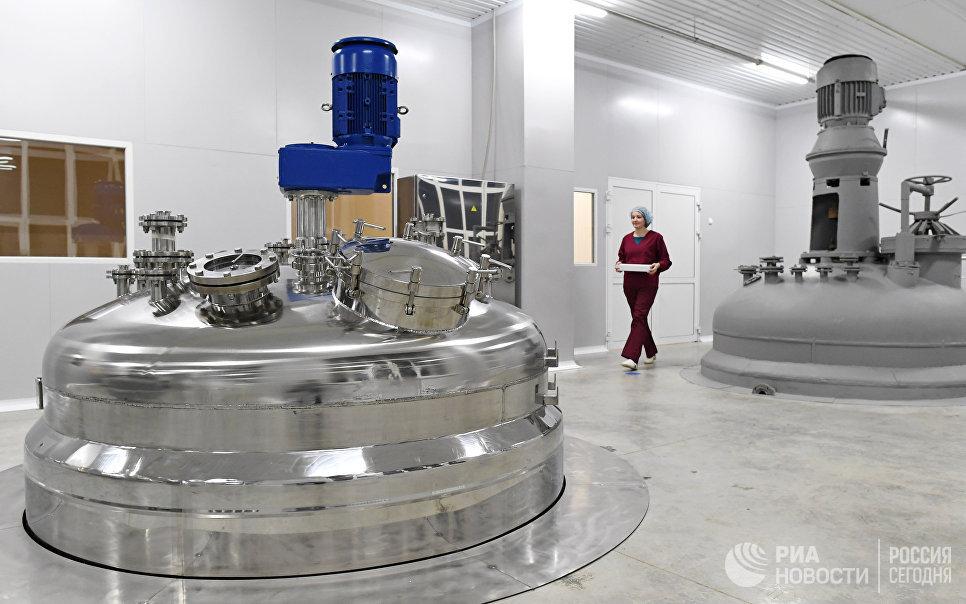 """Открытие завода по производству антибиотиков на АО """"Биохимик"""""""